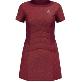 Odlo Irbis X-Warm Running T-shirt Women red
